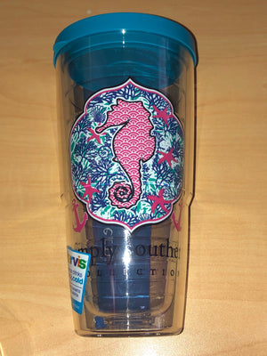 Simply Southern Seahorse Tervis