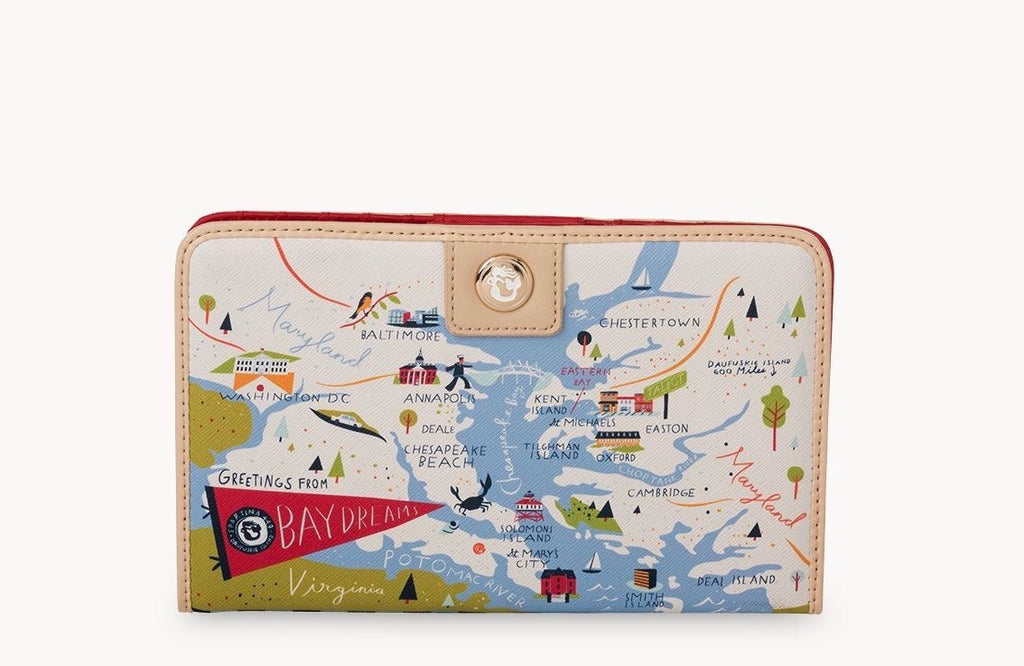 Spartina Bay Dreams Snap Wallet