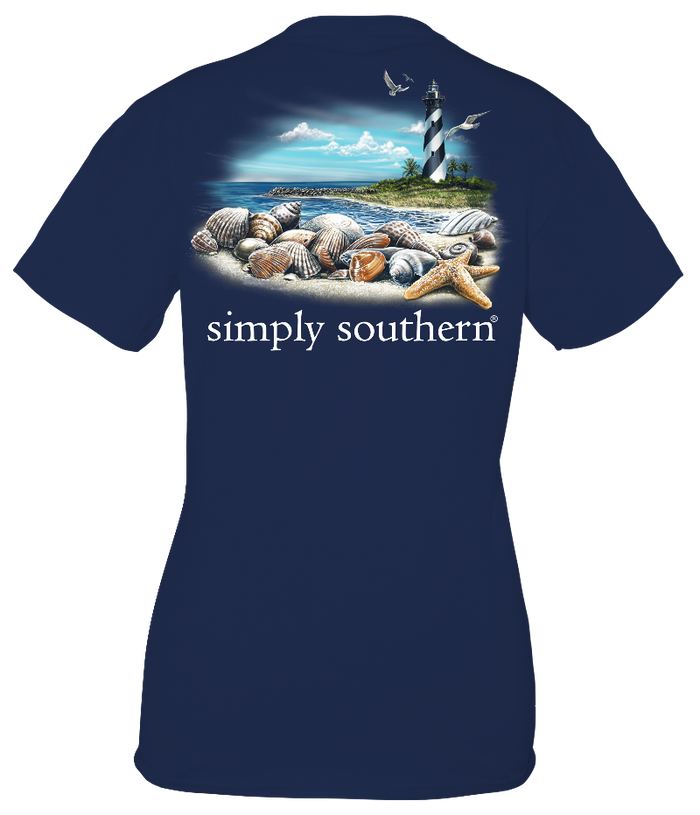 Simply Southern Guys Lighthouse T-Shirt