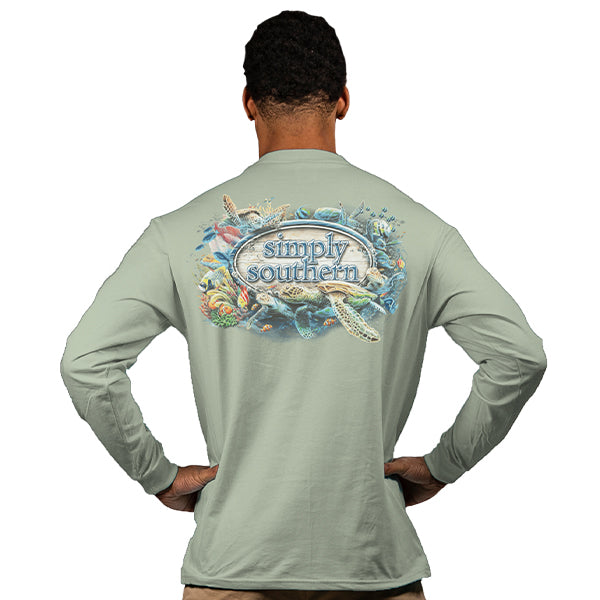 Simply Southern Reef Life Long Sleeve T-Shirt