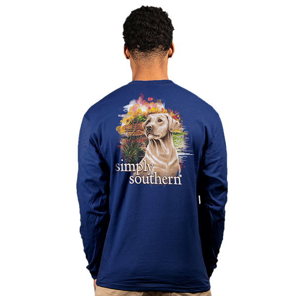 Simply Southern Yeller Long Sleeve T-Shirt-XXL ONLY