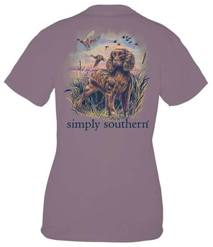 Simply Southern Guys Spaniel T-Shirt