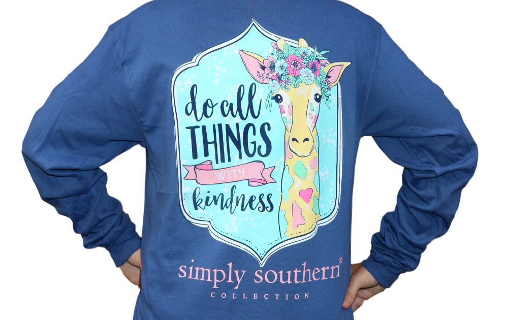 Simply Southern Kindness Long Sleeve T-Shirt