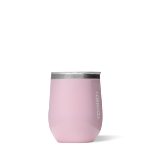 Rose Quartz 12oz Corkcicle Wine Glass