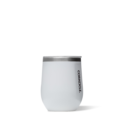 Gloss White 12oz Corkcicle Wine Glass