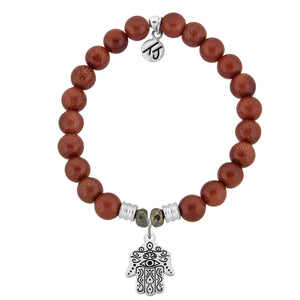 T. Jazelle Goldstone Hand of God Bracelet