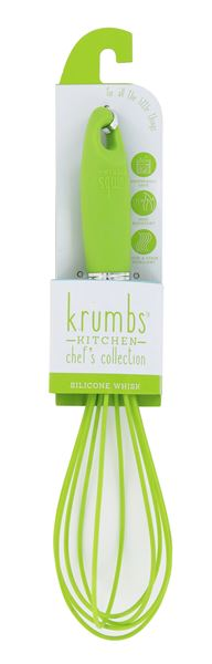 Krumbs' Kitchen Silicone Whisk-Lime