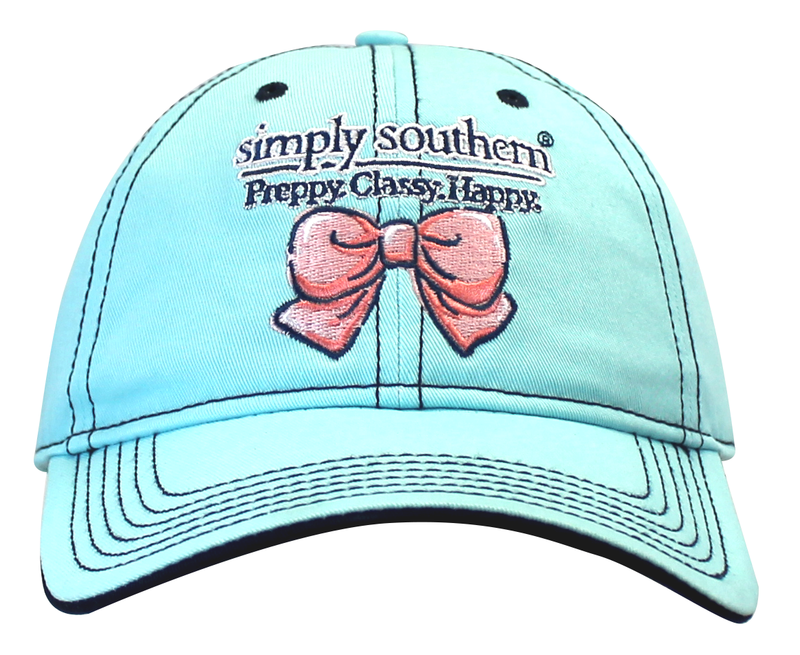 Simply Southern Hat - Blue with Bow