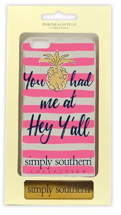 Simply Southern Pineapple Iphone 6/6s iPhone case