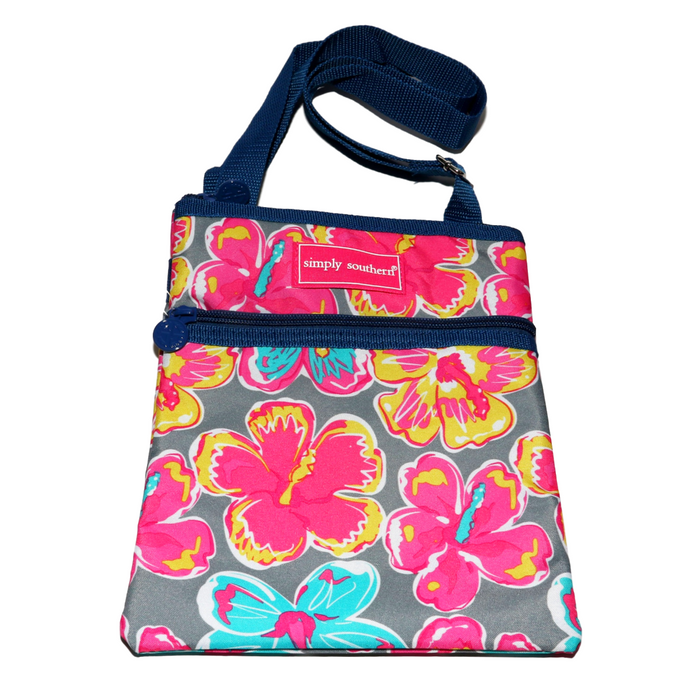 Simply Southern Floral Crossbody Bag