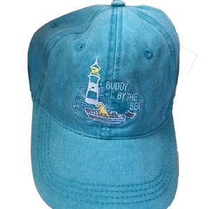 Buddy by the Sea Lighthouse Hat