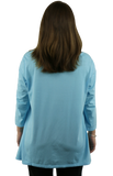 iCantoo Trapeze Scoop Neck Tunic