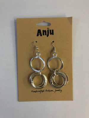 Anju Circle Earrings