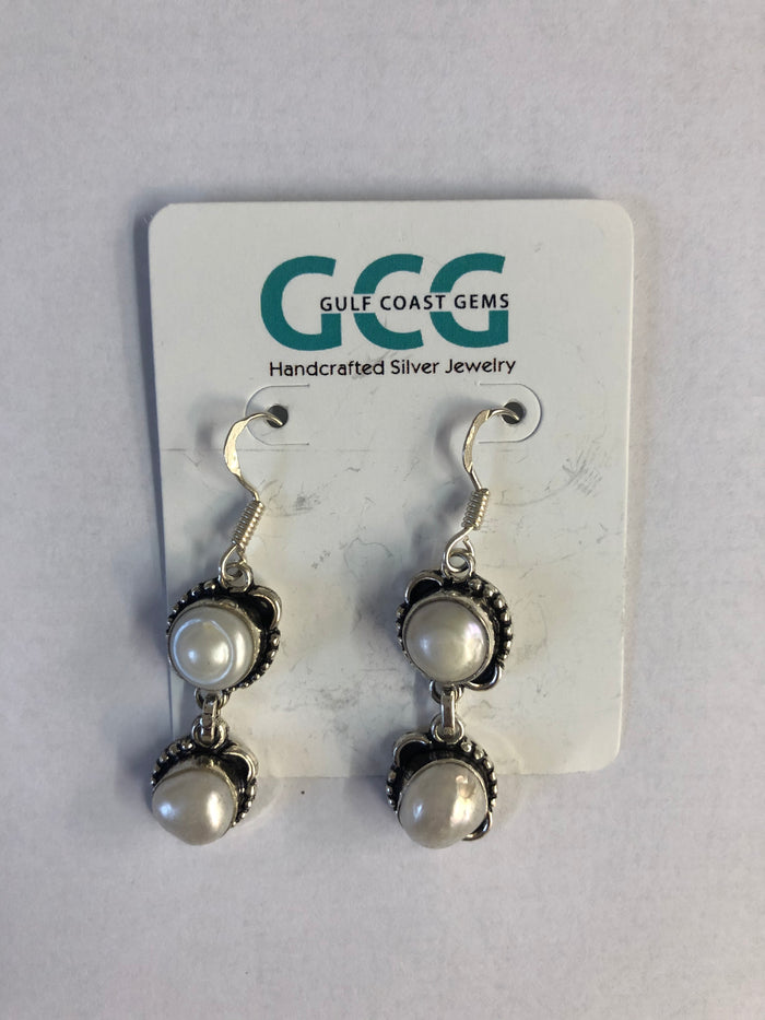 Gulf Coast Gems Pearl Earrings