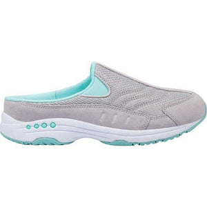 Easy Spirit Travel Time Slip On Sneakers-Grey/Aqua