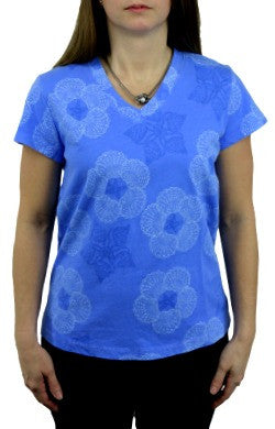 iCantoo Shell Star V-Neck Tee