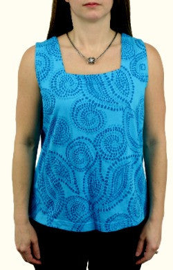 iCantoo Square-neck Tank Top