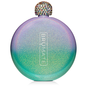 BRÜMATE Flask-Glitter Mermaid