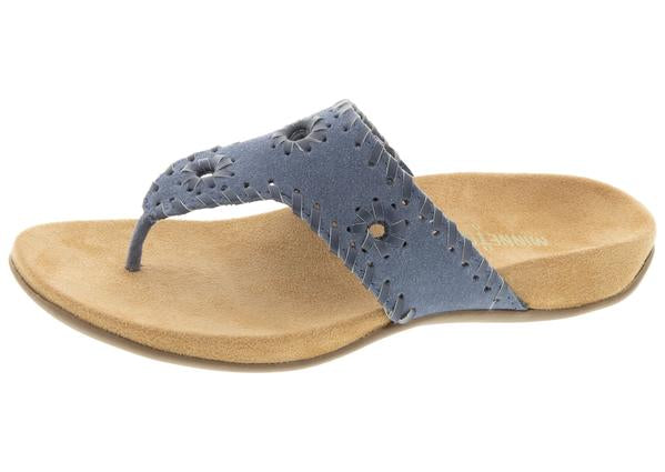 Minnetonka Mya Vintage Blue Sandals