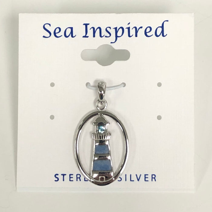 Sea Inspired Lighthouse Pendant