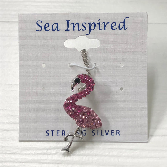 Sea Inspired Flamingo Necklace
