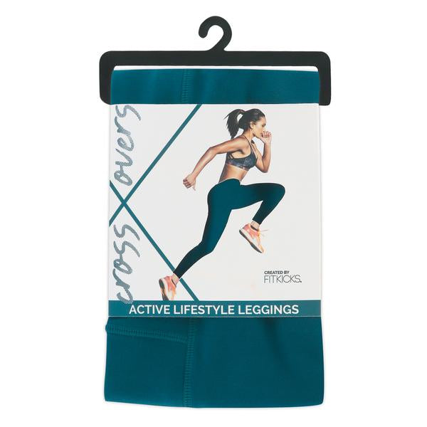 Fitkicks Active Style Leggings-Teal