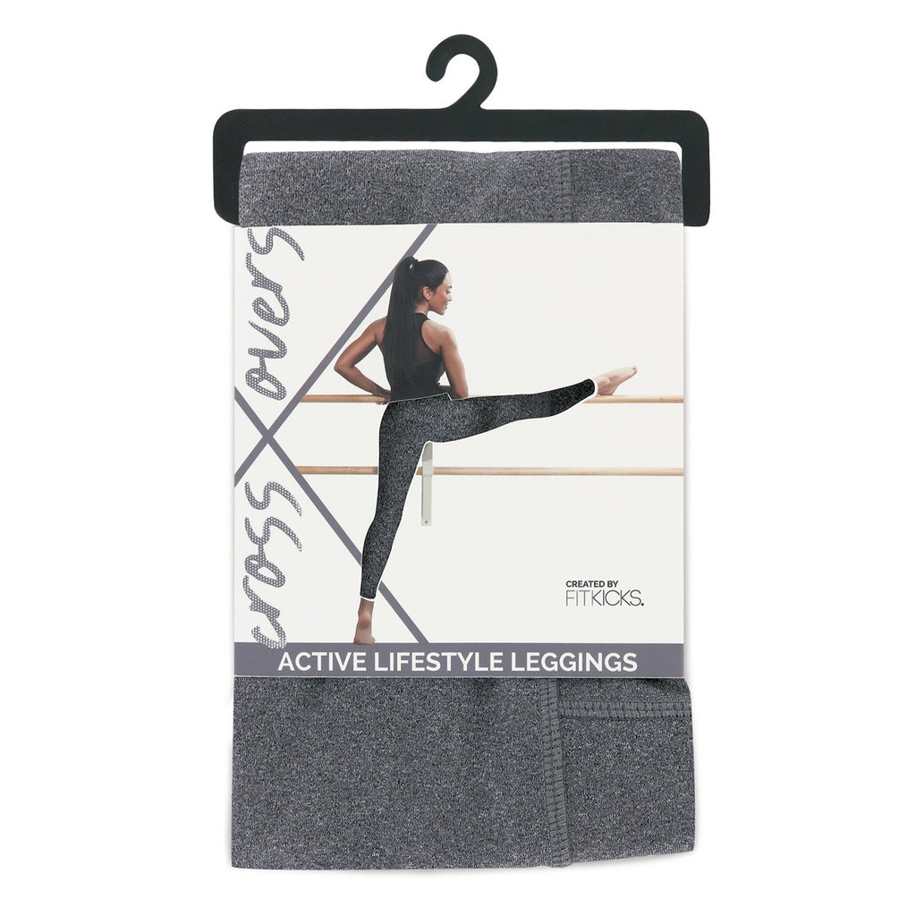 Fitkicks Active Style Leggings-Grey
