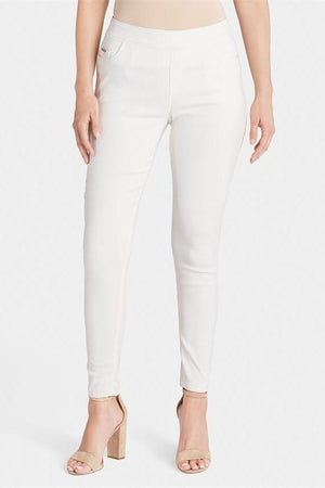 OMG Skinny Ankle Cut Jeans-White