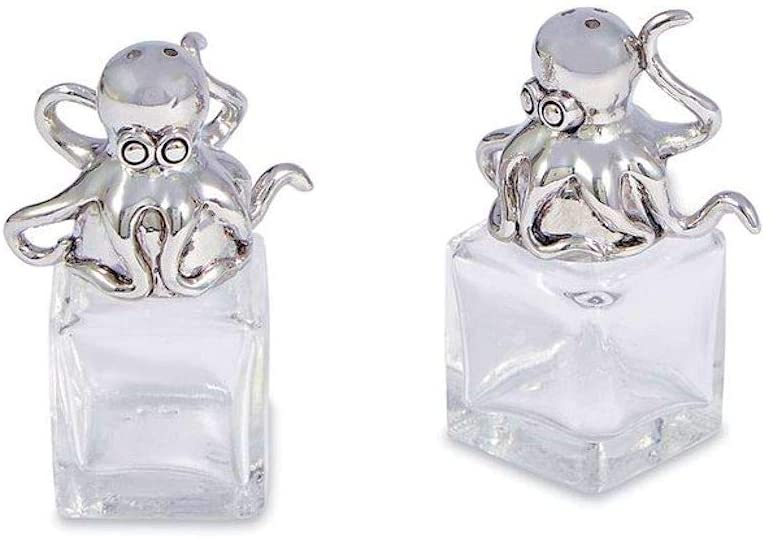 Octopus Salt and Pepper Shakers