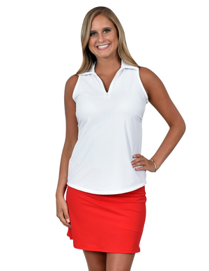 Southwind Fairway Skirt-Red