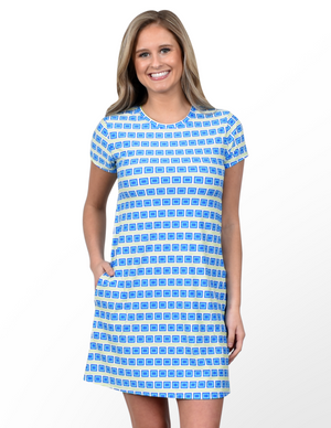 Southwind Hobe Tee Dress-Cool Traffic
