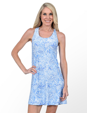 Southwind Original Dress-Lagoon