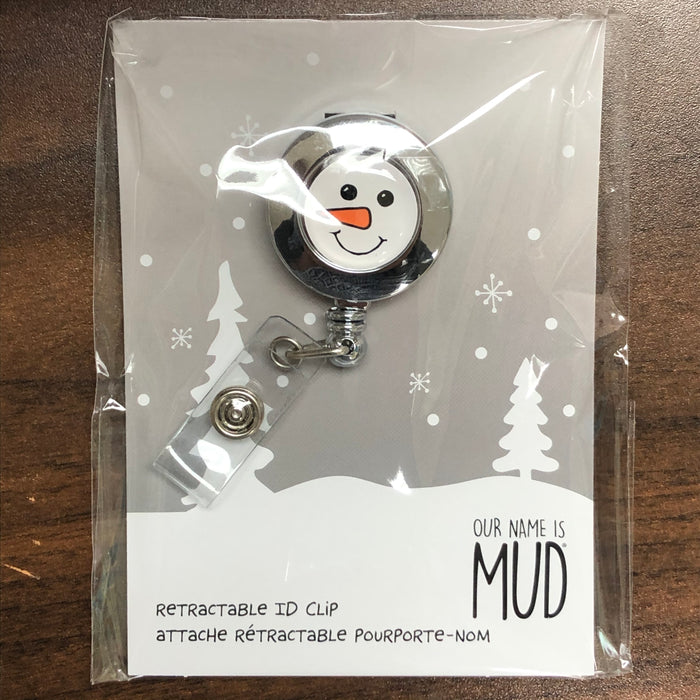 Our Name is Mud Badge Reel-Snowman
