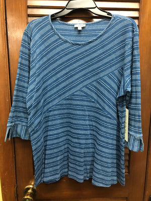 Seven Forty Two-Blue Striped Tunic