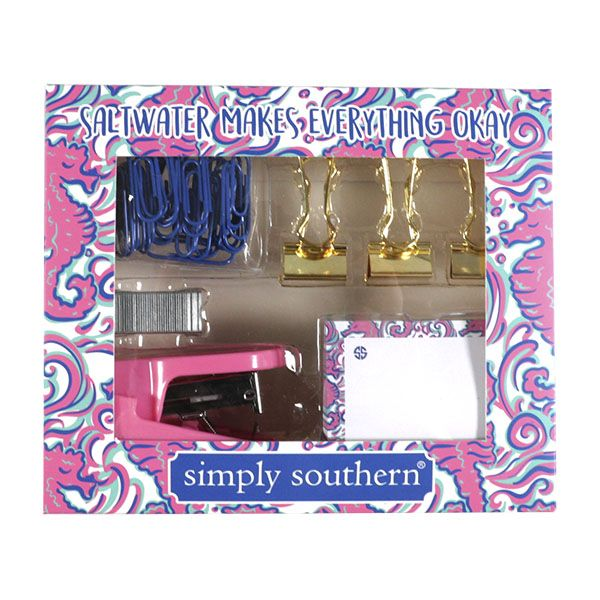 Simply Southern Stationary Set-Seahorse