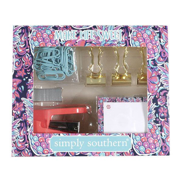 Simply Southern Stationary Set-Pineapple