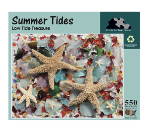Summer Tides Puzzle-550 Pieces