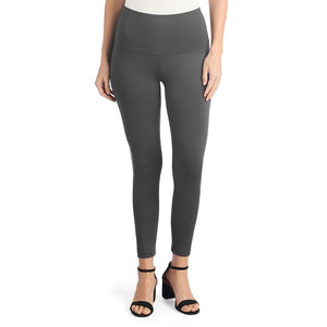 OMG Wide Waistband Leggings-Grey