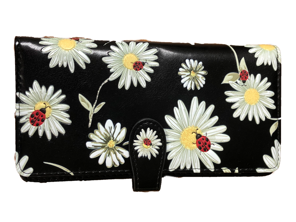 Lady Bugs and Daisies Wallet