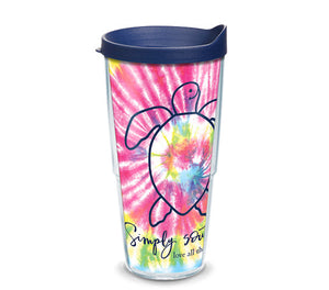 Simply Southern Tie Dye Turtle Tervis
