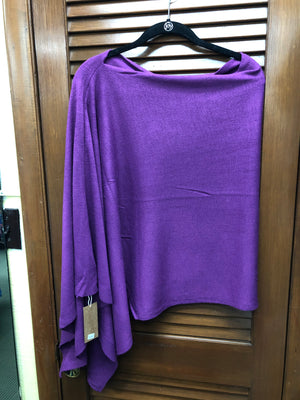 Multi-Wrap Shawl-Purple