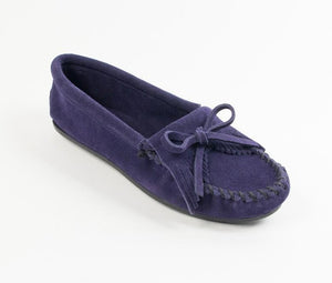 Minnetonka Kilty Navy Moccasin