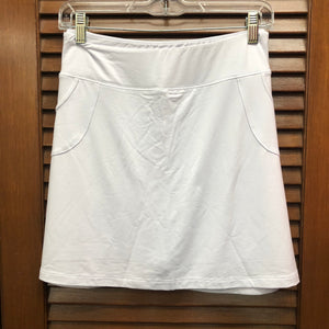 Escape White Skort