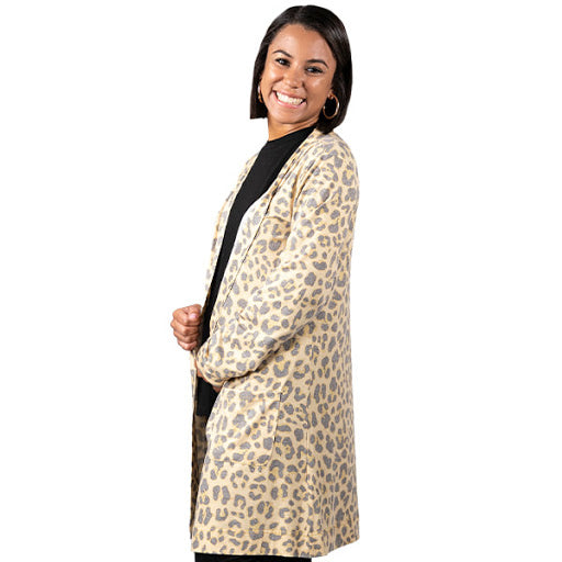 Simply Southern Leopard Cardigan