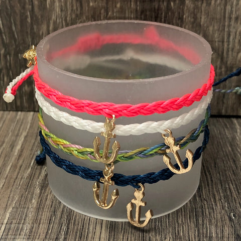 Simply Southern String Bracelet with Anchor