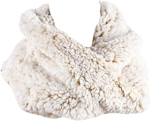 Jack and Missy Sherpa Scarf-Cream