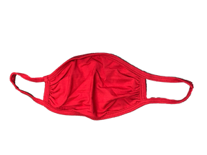 Solid Color Mask-Red