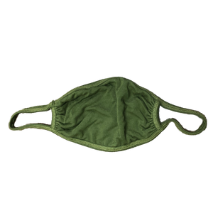 Solid Color Mask-Olive