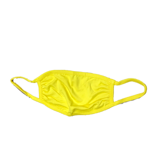 Solid Color Mask-Yellow