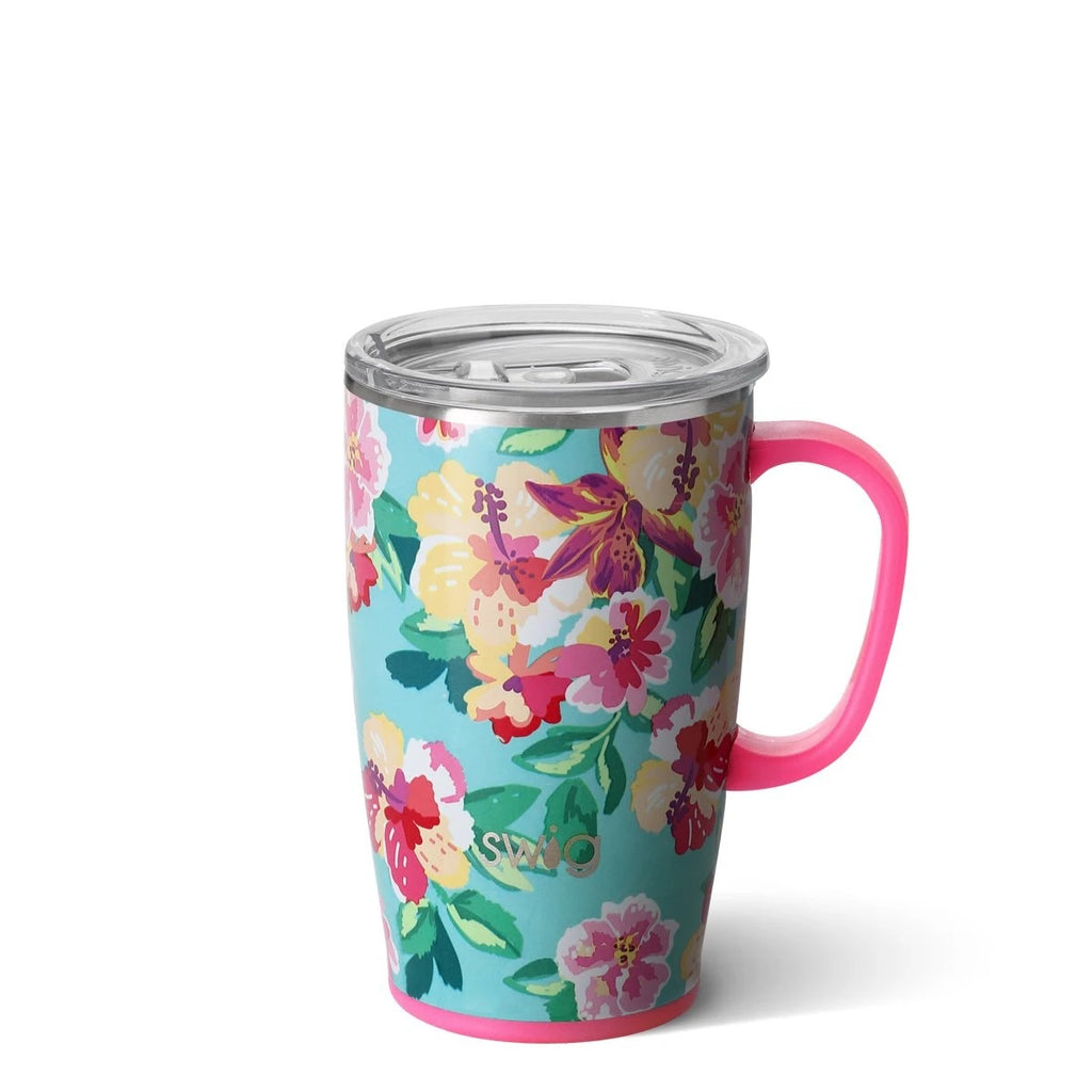 Swig Island Bloom Travel Mug